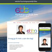 website Psychologenpraktijk Ebba