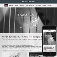 website Crescenda.nl