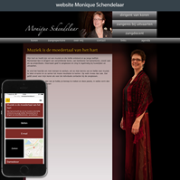 website Monique Schendelaar