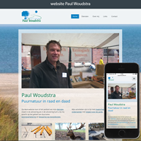 website Paul Woudstra